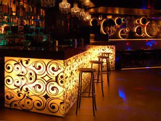 Discoteca Star Palladium Bares y clubs de estilo moderno de FrAncisco SilvÁn - Arquitectura de Interior Moderno