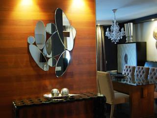 Vivienda en Getafe, Madrid Pasillos, vestíbulos y escaleras de estilo ecléctico de FrAncisco SilvÁn - Arquitectura de Interior Ecléctico