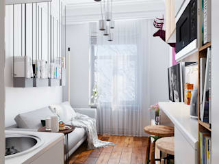 Living room by Vashantsev Nik, Eclectic