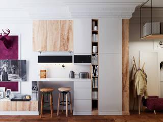 Livings de estilo  por Vashantsev Nik