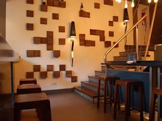 "Restaurante ""La Entreplanta"" Gastronomía de estilo moderno de FrAncisco SilvÁn - Arquitectura de Interior Moderno"