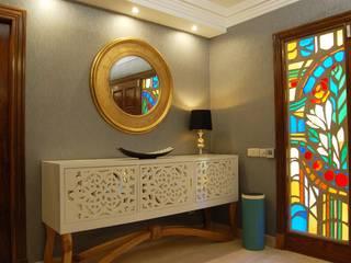 Vivienda en Villaviciosa de Odón, Madrid Pasillos, vestíbulos y escaleras de estilo clásico de FrAncisco SilvÁn - Arquitectura de Interior Clásico