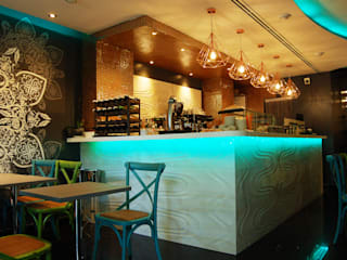 """Sushi Bar, """"Mitsushi"""" Gastronomía de estilo asiático de FrAncisco SilvÁn - Arquitectura de Interior Asiático"""