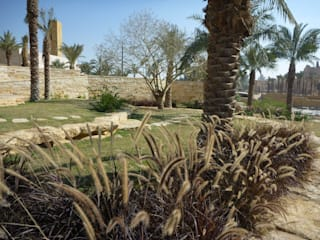 Mediterranean style event venues by MK2 international landscape architects Mediterranean