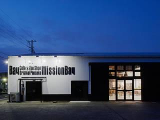 Mission Bay: LINEs AND ANGLEs inc.が手掛けた家です。,インダストリアル