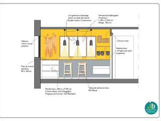 Cuisine PROJET K. Cuisine scandinave par Julie Berque Architecture d'intérieur Scandinave
