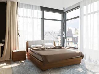 Kamar Tidur oleh 2GO Design Studio, Modern