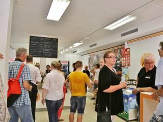 Cafe Kurt:  Esszimmer von SSP SCHMITZ SCHIMINSKI Parter GbR - Planung für Raum - Licht - Design