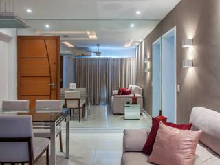 Millena Miranda Arquitetura Phòng khách Ly
