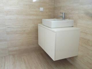 KUUK Minimalist bathroom MDF White