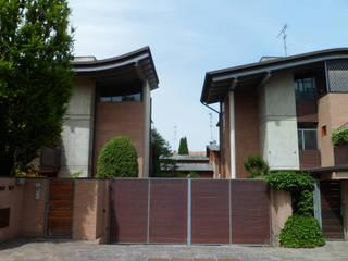 Nuova edificazione di due fabbricati residenziali di Studio Pinelli Architetti