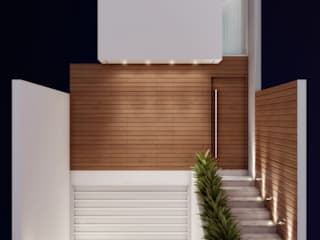 Residência 4x22 Casas modernas por Merlincon Prestes Arquitetura Moderno