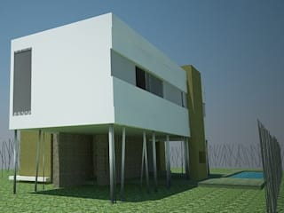 Minimalist house by estudio m Minimalist