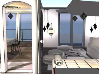 Aménagement intérieur_maison secondaire par JC Créations d'intérieurs
