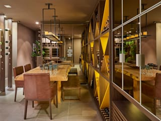 Decora Líder Brasília - Morada da Família Tignaello Salas de jantar modernas por Lider Interiores Moderno