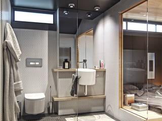 Denis Svirid Minimalist bathroom