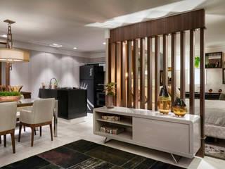 Decora Líder Brasília - Flat Moderno Salas de jantar modernas por Lider Interiores Moderno
