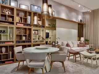 Decora Líder Belo Horizonte - Living do Seu João Salas de jantar modernas por Lider Interiores Moderno