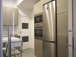Isoko Proyecto Кухня в стиле модерн Бежевый