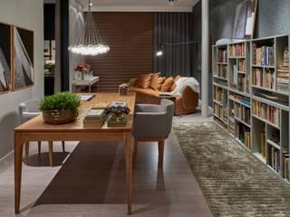 Decora Líder Belo Horizonte - Home Office Salas de estar modernas por Lider Interiores Moderno