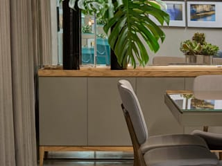 Decora Líder Belo Horizonte - Sala de Jantar Salas de estar modernas por Lider Interiores Moderno