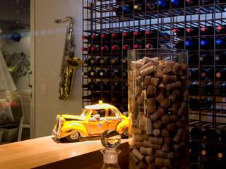 قبو النبيذ تنفيذ Isabela Canaan Arquitetos e Associados, حداثي