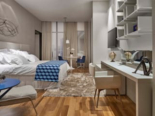 Decora Líder Belo Horizonte - Suíte de Hotel Quartos modernos por Lider Interiores Moderno