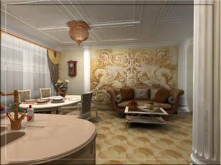 Classic style living room by студия Виталии Романовской Classic