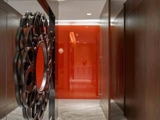 Pasillos y vestíbulos de estilo  por Isabela Canaan Arquitetos e Associados, Moderno