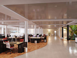 Modern commercial spaces by VR-9 Modern