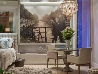 Decora Líder Belo Horizonte - Amsterdam Couple Bedroom Salas de estar modernas por Lider Interiores Moderno
