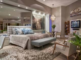Decora Líder Belo Horizonte - Amsterdam Couple Bedroom Quartos modernos por Lider Interiores Moderno