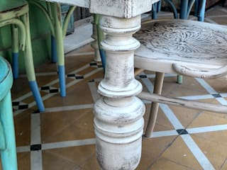 MESON ANTIGUO RUSTICO DE CAMPO de Muebles eran los de antes - Buenos Aires Rústico