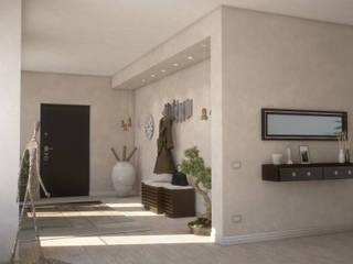 Living G&C: Ingresso & Corridoio in stile  di Ivan Rivoltella