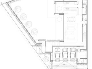 Planta Baja:  de estilo  por ze|arquitectura