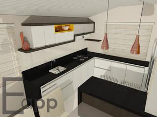 Cozinha:   por Estúdio Criativo Arquitetura e Interiores,Moderno