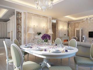 Salle à manger classique par Details, design studio Classique