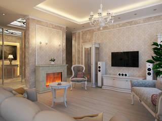 Salon classique par Details, design studio Classique