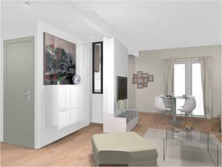 Rénovation complète d'un appartement parisien de 68 m² par REVEL'HOME