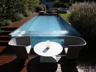 Pool im Wienerwald BEGRÜNDER Moderner Garten
