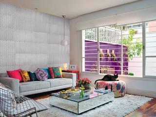 REVESTIMIENTOS DE CEMENTO Bara Modern Oturma Odası
