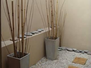 庭院 by Arquitecto Oscar Alvarez, 現代風