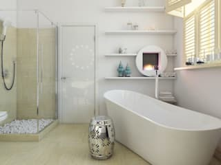 Лофт Industrial style bathrooms by Interiorbox Industrial