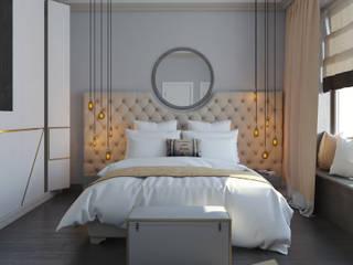 Лофт:  Bedroom by Interiorbox