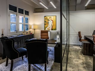 Study/office by elliot James Pte Ltd