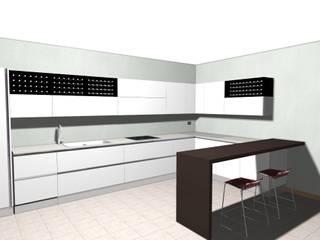 cucina a Pojana Maggiore (VI):  in stile  di ARCH. GIULIA COGO
