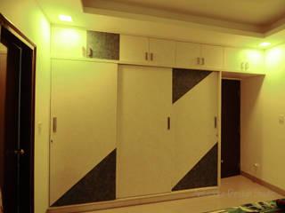 Mr Siddhart Shandilya:  Bedroom by Ambiance Design Studio,Minimalist