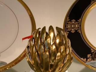 Japanisches Porzellan NORITAKE in unserem Showroom Sweets & Spices Dekoration und Möbel EsszimmerGeschirr und Gläser Porzellan Schwarz
