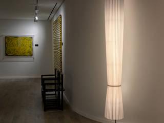 Modern Corridor, Hallway and Staircase by Pujol Iluminacion Modern