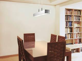APOLO: Comedor de estilo  de Pujol Iluminacion